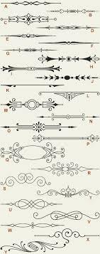letterhead fonts lhf engraver s ornaments fashioned scrolls