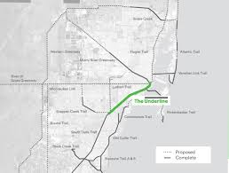 Florida Trail Map by Miami U0027s 10 Mile Linear Park And Urban Trail U2014 The Underline