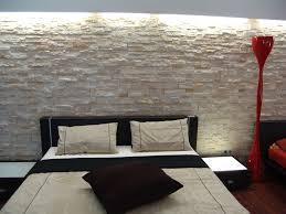 Schlafzimmer Wandgestaltung Beispiele Schlafzimmer Steinoptik Mit 100 Wandpaneele Wohnideen Tine Wittler
