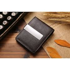 Cowhide Leather Purses Card Holder Coins Cowhide Leather Purses Coffee Intl Lazada Ph