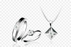 necklace wedding ring images Wedding ring necklace diamond one pair of diamond ring and jpg