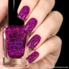 f u n lacquer holo queen holographic nail polish holographic