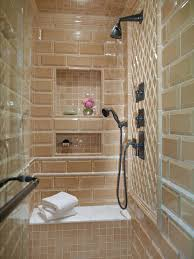 hidden spaces in your small bathroom hgtv find your niche enclosed shower