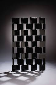 furniture modern black room divider screens