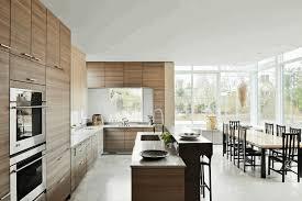 Galley Kitchen Designs Layouts Galley Kitchen With Island Dark Wood Cabinetry By Bremtown Norma