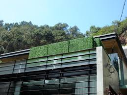 Screen Ideas For Backyard Privacy by Artificial Hedges In A Balcony Blocking The View And Creating