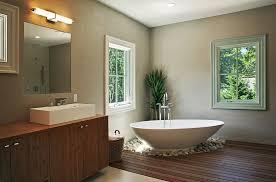 scored concrete floors bathroom contemporary with bathroom brown