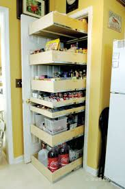 Kitchen Cabinet Pantry Ideas Best 25 No Pantry Solutions Ideas On Pinterest Spice Rack