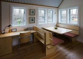 tiny home dining table tiny house floating guest house in portland oregon tiny houses