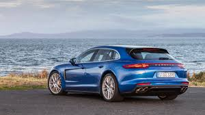 porsche panamera blue porsche panamera sport turismo 2017 review by car magazine