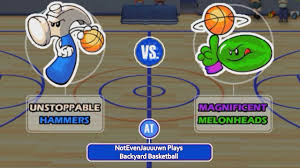 game 5 of backyard basketball unstoppable hammers vs magnificent