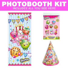 photo booth supplies shopkins photo booth kit diy photo booth party supplies