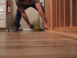 T Moulding For Laminate Flooring How To Install Shoe Molding Or Quarter Round