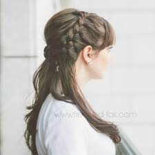 hairstyle for wedding 10 pretty half up half wedding hairstyles more