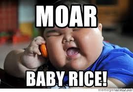 moar baby rice fat chinese baby meme generator