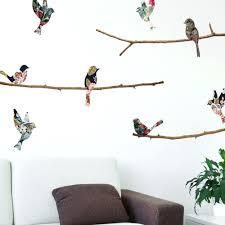 flock of birds wall decal flock of birds animals wall art decal