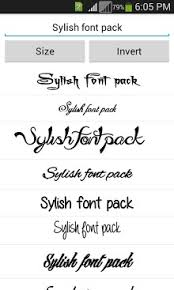 font apk stylish fonts apk for android