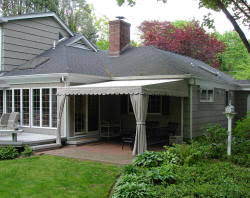 Awnings For Porches Awnings For Home Largest Selection Long Island Ny M U0026 M Sign