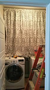 Laundry Room Curtains Diy Laundry Room Curtains Home Inspiration