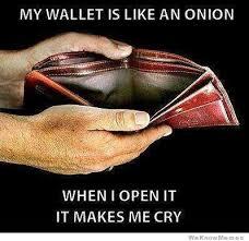 Meme Wallet - my wallet is like an onion weknowmemes