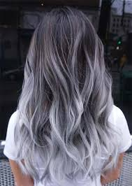 silver hair frosting kit silver hair trend 51 cool grey hair colors tips for going gray