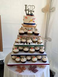 baseball themed wedding baseball in the fall themed wedding cake cupcakes cakecentral