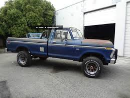 1976 Ford F250 High Boy - 1976 ford ranch information and photos momentcar