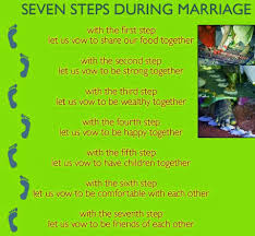 wedding quotes in telugu telugu web world importance and meaning of seven steps during
