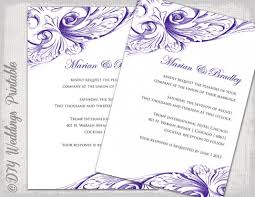 Making Your Own Wedding Invitations Make Your Own Wedding Invitations Free Templates Wblqual Com