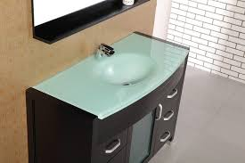 Bathroom Vanity With  Sinks Creditrestoreus - Elements 36 inch granite top single sink bathroom vanity