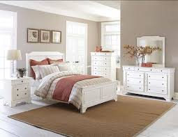 White Bedroom Brown Furniture Relaxing Rustic White Bedroom Furniture Furniture Ideas And Decors