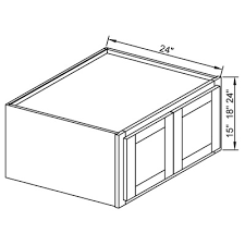 24 inch deep wall cabinets w362427 24 double door wall cabinet 27 deep white shaker