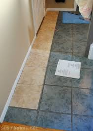 diy installing groutable luxury vinyl tile burger