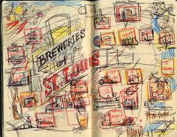 Beer Map Zettwoch U0027s Suitcase Breweries Of St Louis