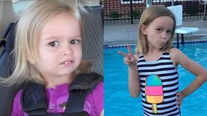 Chloe Memes - girl from unimpressed chloe viral meme is all grown up youtube
