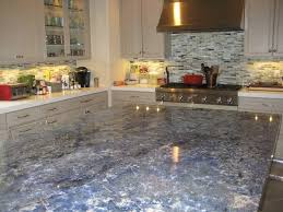 blue kitchen cabinets with granite countertops fascinating blue granite countertops in modern and handsome