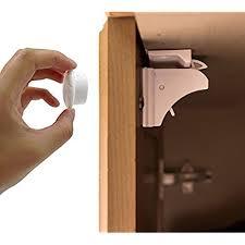 hidden magnetic cabinet locks hidden door lock amazon com