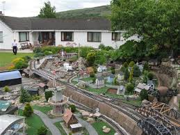 Garden Railroad Layouts Simple Landscape Landscaping Layouts