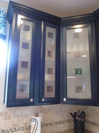 Kitchen Cabinet Glass Door Design Kitchen Astonishing Cool Frosted Glass Cabinet Doors Home Depot