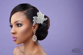 Bella Naija Bridal Hair Styles | imelda of beauty boudoir black bride makeup bellanaija weddings