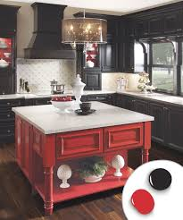 blue kitchen cabinets in cabin 12 kitchen cabinet color ideas two tone combinations this