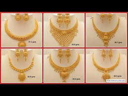 gold necklace designs simple images Latest jewellery designs jpg