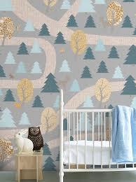 wallpaper designs for kids captivating woodland kids wallpaper design woodland wallpaper