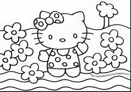 incredible hello kitty coloring pages with free hello kitty