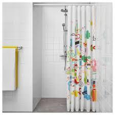 botaren shower curtain rod white 70 120 cm ikea