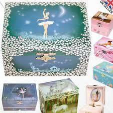 children s jewelry box childrens kids musical jewellery box wind up trinket box