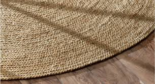 6 Foot Round Rugs by Amazon Com Nuloom Natural Hand Woven Rigo Jute Rug Round 4