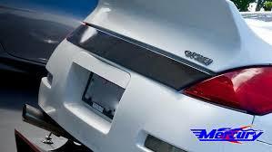 nissan 350z rear bumper mercury z project rear license number protector mercury z project