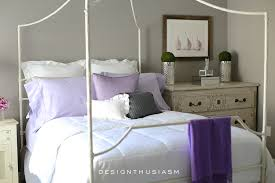 Gray And Purple Bedroom by Grey Bedroom Ideas Mixing Lilac And Grey In An Updated Bedroom