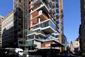 construction update tribeca u0027s jenga tower 56 leonard tops out 6sqft